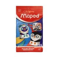 Gumki 2szt. Ergo Fun Maped 119002