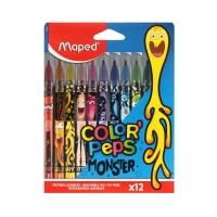 Flamastry 12kol Monster Maped 845400