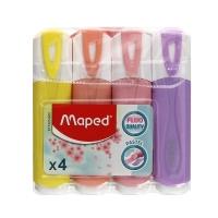 Zakreślacz 4kol pastelowe Maped 742546