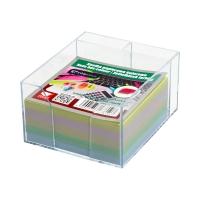 Karteczki 85x85x35 kolor pojemnik Interdruk