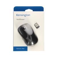 Mysz optyczna bezprzewodowa czarna Kensington ValuMouse