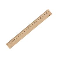 Linijka 20cm drewniana Leniar 30061