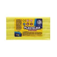 Plastelina 1kg cytrynowa luz