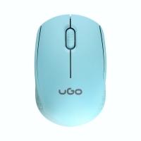 Mysz optyczna bezprzewodowa USB niebieska UGO PICO MW 100