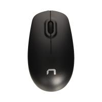 Mysz optyczna przewodowa USB czarna Natec Hawk NMY-1185