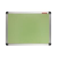 Tablica suchościeralno-magnetyczna 30x40 zielona ALU Memoboards
