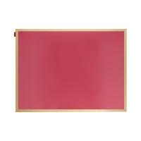Tablica suchościeralno-magnetyczna 60x90 różowa drewno Memoboards