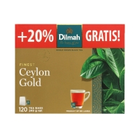 Herbata ekspresowa Ceylon Gold Dilmah 100t