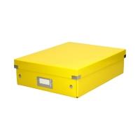 Pudełko C&S przegródki średnie żółte Leitz NewWOW