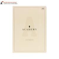 Brulion A4/96 kratka Academy pastel Interdruk 90g