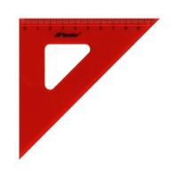 Ekierka 45/10cm czerwona Leniar 10027