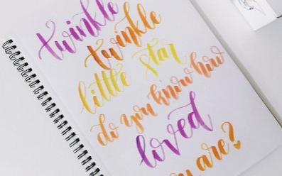 Markery do letteringu