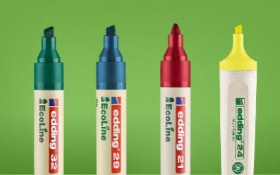 Edding EcoLine - ekologiczne markery