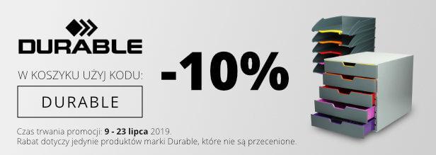 Durable -10%