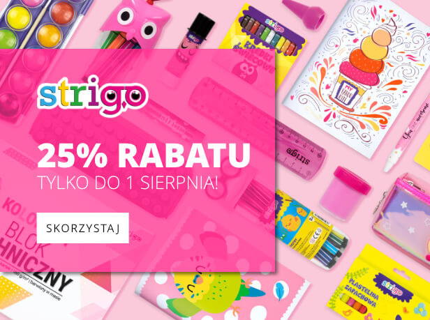 Strigo - rabat 25%