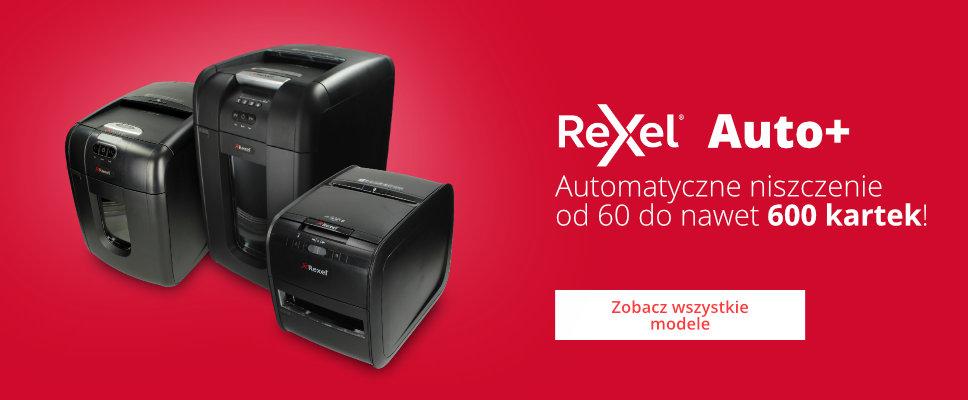 Zobacz wszystkie niszczarki Rexel Auto+